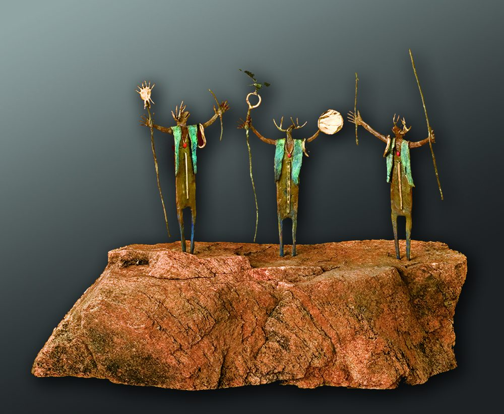 The Elders | Bill Worrell | Sculpture-Exposures International Gallery of Fine Art - Sedona AZ