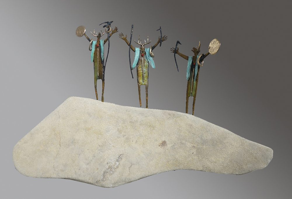 The Messengers | Bill Worrell | Sculpture-Exposures International Gallery of Fine Art - Sedona AZ