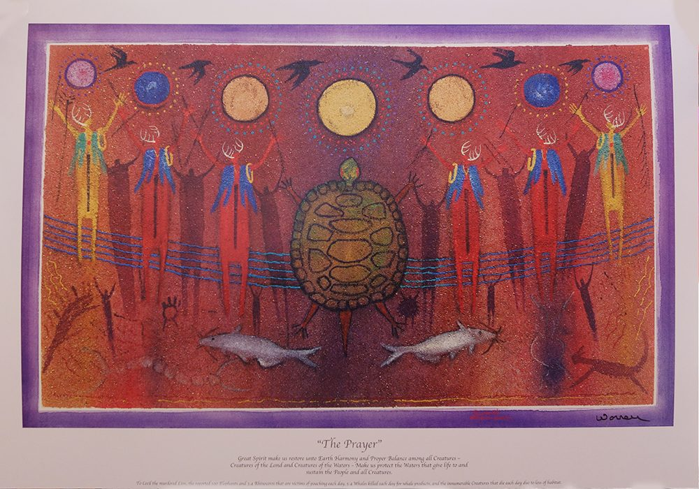 The Prayer | Bill Worrell | Posters-Exposures International Gallery of Fine Art - Sedona AZ