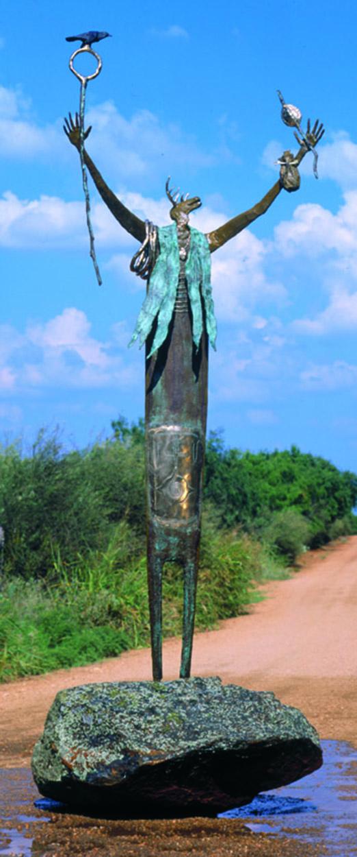 The Prophecy | Bill Worrell | Sculpture-Exposures International Gallery of Fine Art - Sedona AZ