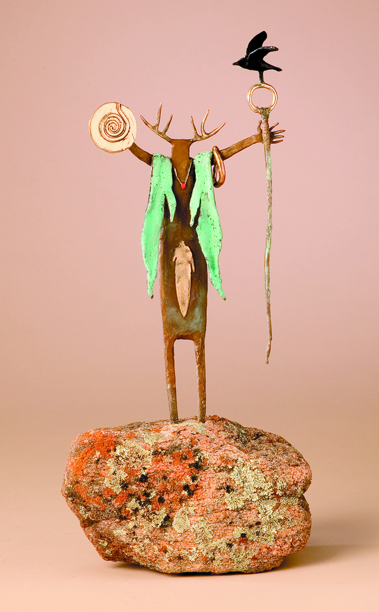 Visions From The Ancient Ones | Bill Worrell | Sculpture-Exposures International Gallery of Fine Art - Sedona AZ