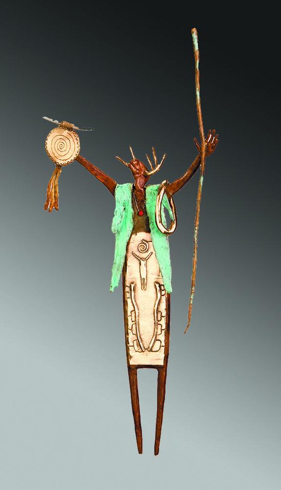 We Greet The Sun | Bill Worrell | Sculpture-Exposures International Gallery of Fine Art - Sedona AZ