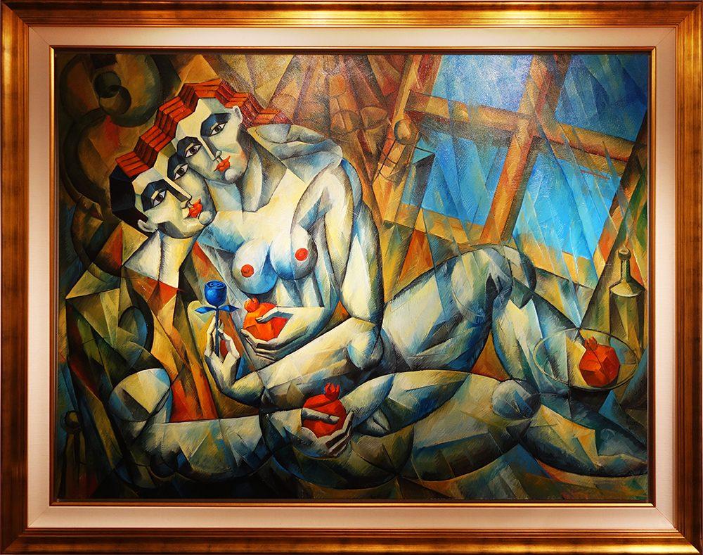 Serenade by the Window   Yuroz   Painting-Exposures International Gallery of Fine Art - & Serenade by the Window\