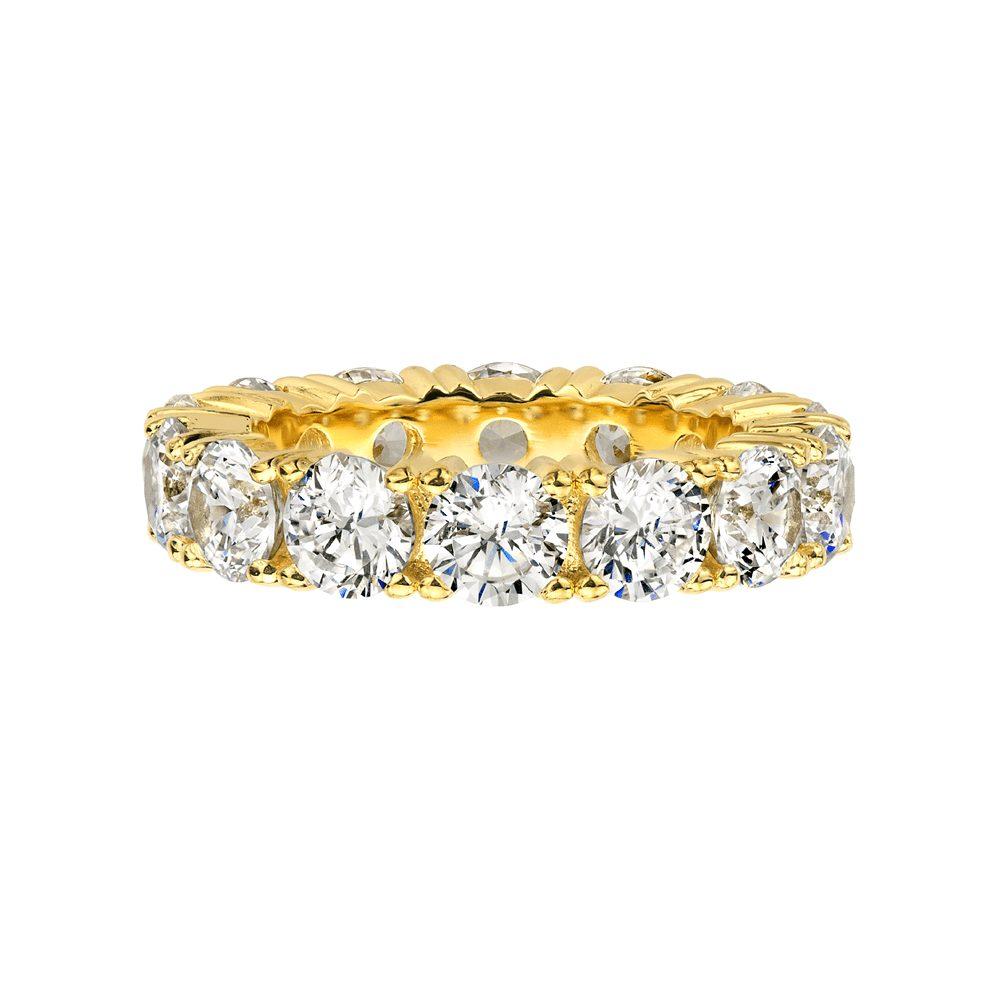 Bling by Wilkening 5mm Gold Ring