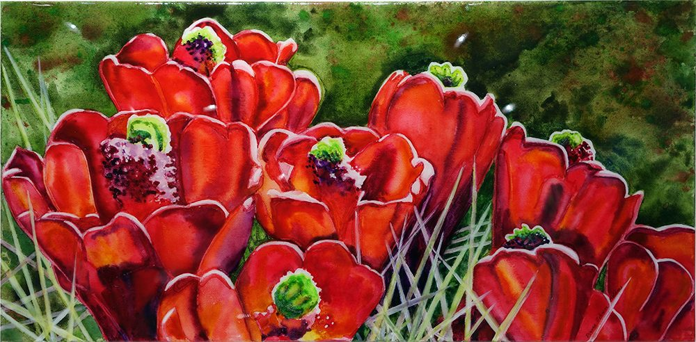 Claretcup Cactus | Dianne Adams | Painting-Exposures International Gallery of Fine Art - Sedona AZ