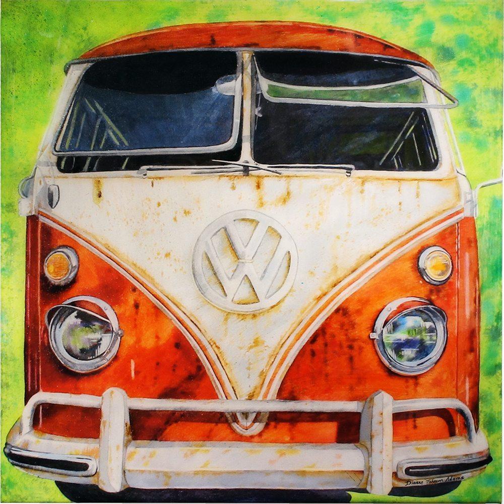 VW Bus   Dianne Adams   Painting-Exposures International Gallery of Fine Art - Sedona AZ