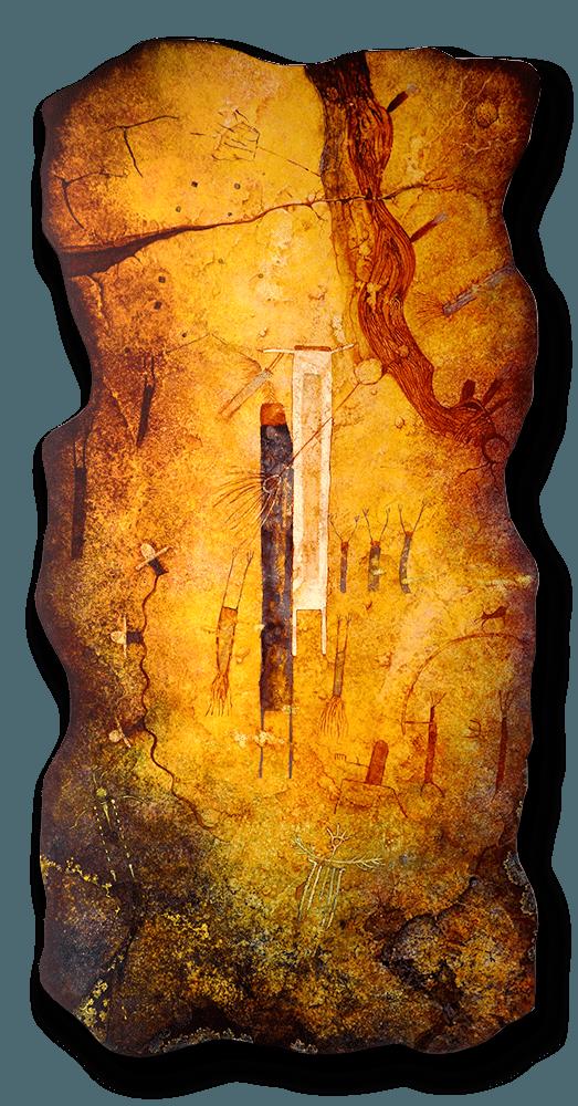 Mystic Travelers | Sandra Brestel | Painting-Exposures International Gallery of Fine Art - Sedona AZ