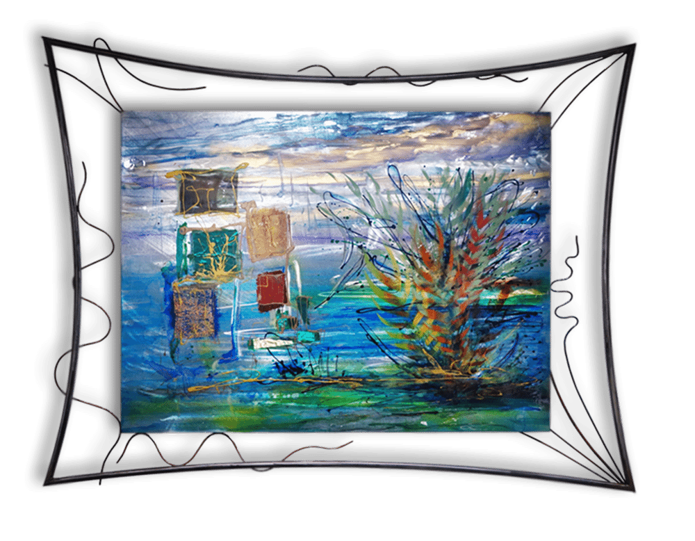 After Blue | Lynn Demiurge | Wall Art-Exposures International Gallery of Fine Art - Sedona AZ