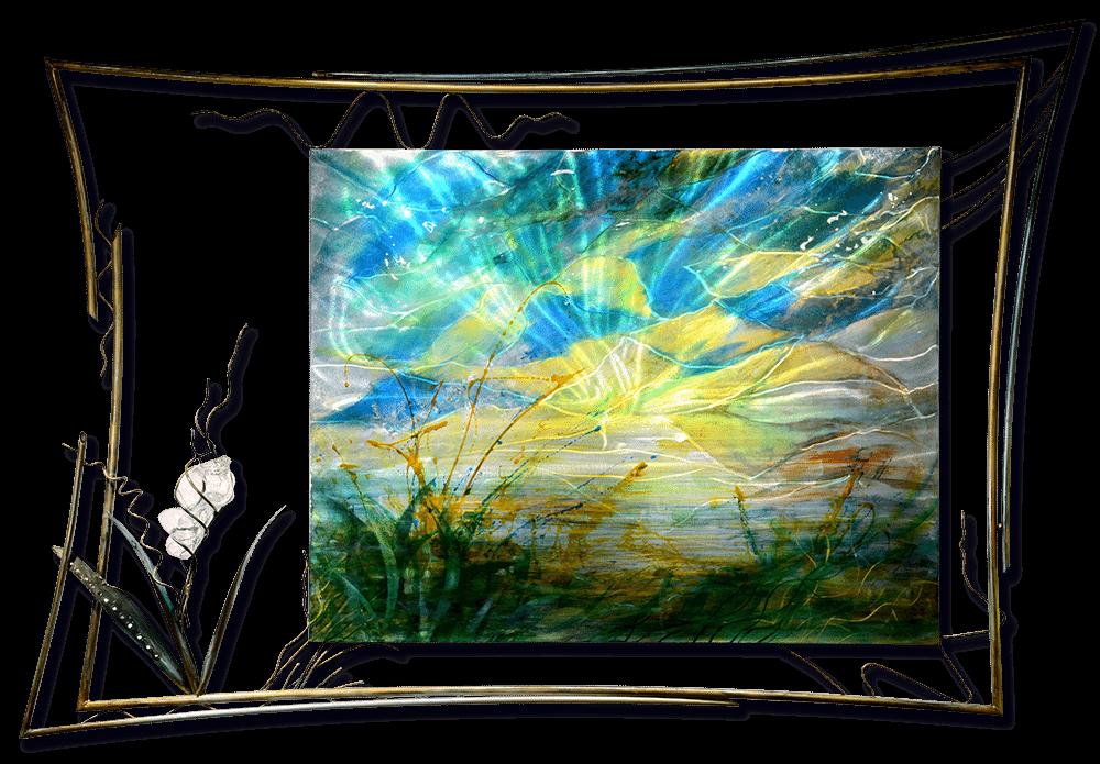 Deep Glass | Lynn Demiurge | Wall Art-Exposures International Gallery of Fine Art - Sedona AZ