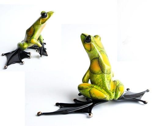 Jump Start   Frogman   Sculpture-Exposures International Gallery of Fine Art - Sedona AZ
