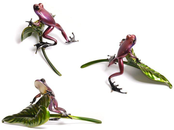 Stakeout | Frogman | Sculpture-Exposures International Gallery of Fine Art - Sedona AZ