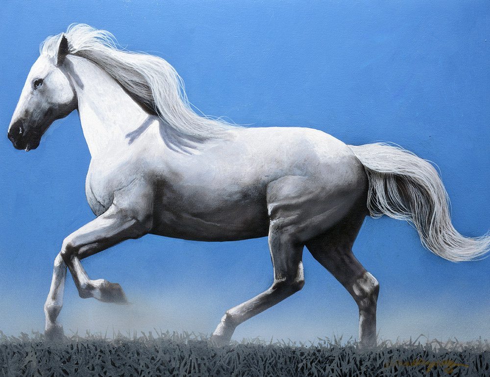 Horse Series III | Jd Challenger | Painting-Exposures International Gallery of Fine Art - Sedona AZ