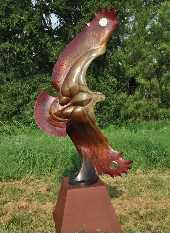Ascension Monument | John Maisano | Sculpture-Exposures International Gallery of Fine Art - Sedona AZ