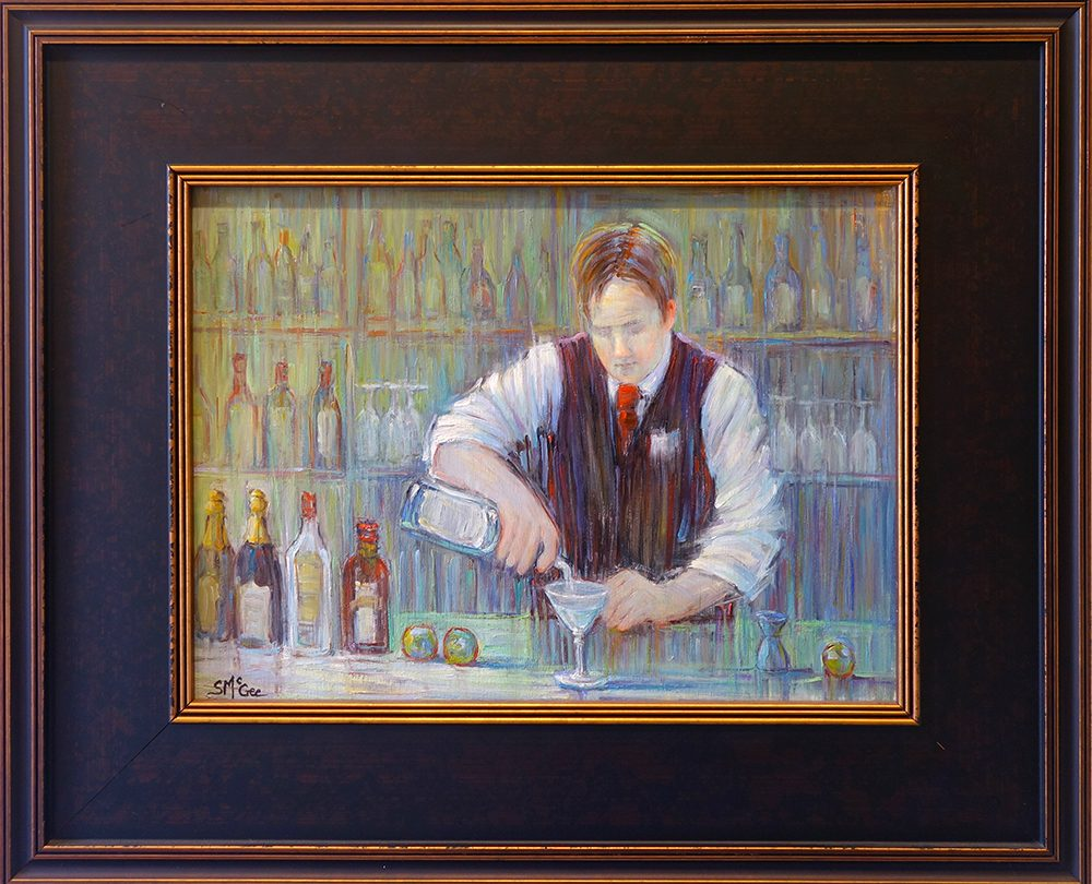 Spetmenber McGee Bartender Series Perfect Martini Exposures International