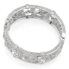 Bling By Wilkening Floral Silver Cuff Exposures International