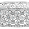 Silver Florence Cuff with Double Security Bar Clasp | Bling By Wilkening | Jewelry-Exposures International Gallery of Fine Art - Sedona AZ