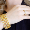Bling By Wilkening Florance Gold Cuff Exposures International