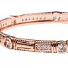 18 KGP Rose Gold Rachel Bangle   Bling By Wilkening   Jewelry-Exposures International Gallery of Fine Art - Sedona AZ