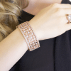 Bling By Wilkening Florance Rose Gold Cuff Exposures International