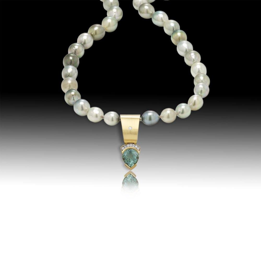 D107- Green Tourmaline 6.41 | Barbara Westwood | Jewelry-Exposures International Gallery of Fine Art - Sedona AZ