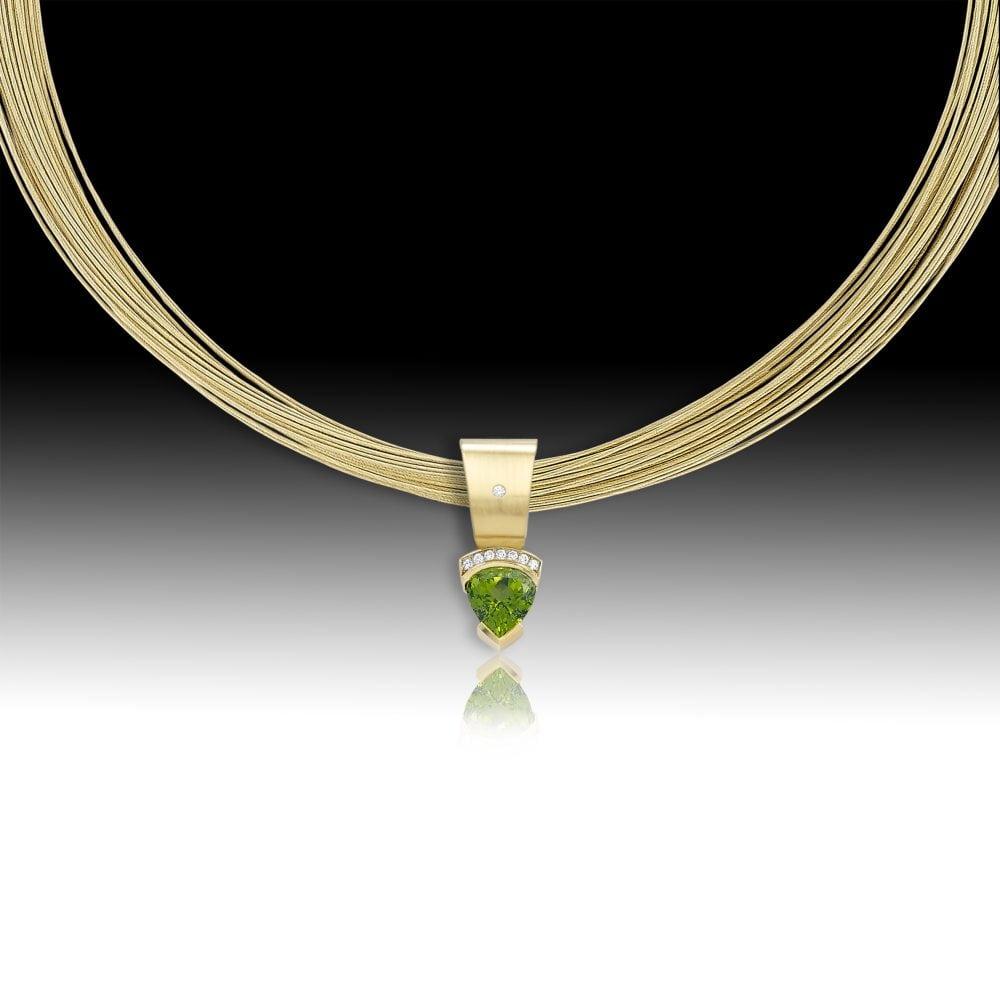 D114- Peridot 6.97 | Barbara Westwood | Jewelry-Exposures International Gallery of Fine Art - Sedona AZ