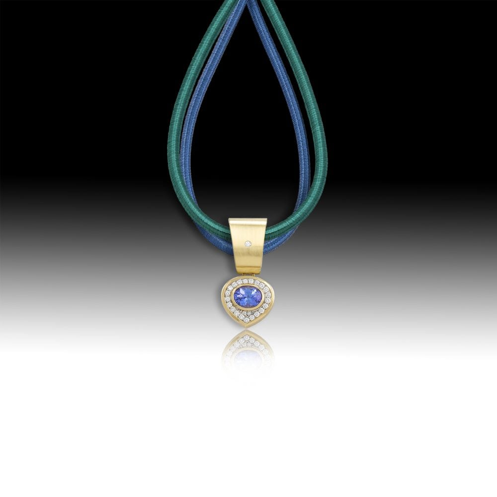 D164-Tanzanite 2.47 | Barbara Westwood | Jewelry-Exposures International Gallery of Fine Art - Sedona AZ