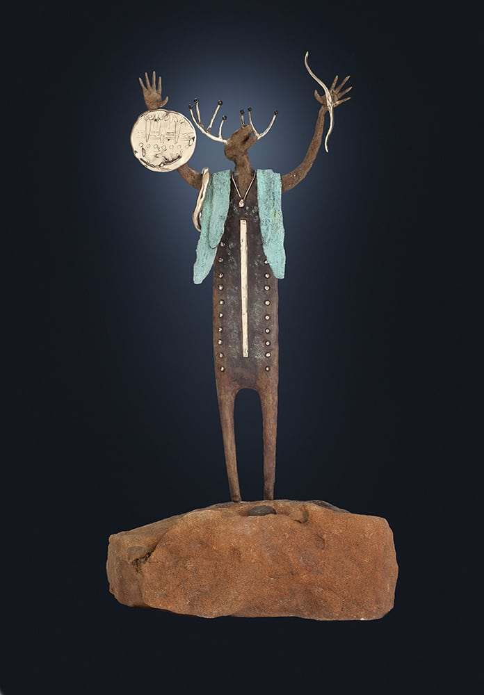 The Beginning | Bill Worrell | Sculpture-Exposures International Gallery of Fine Art - Sedona AZ