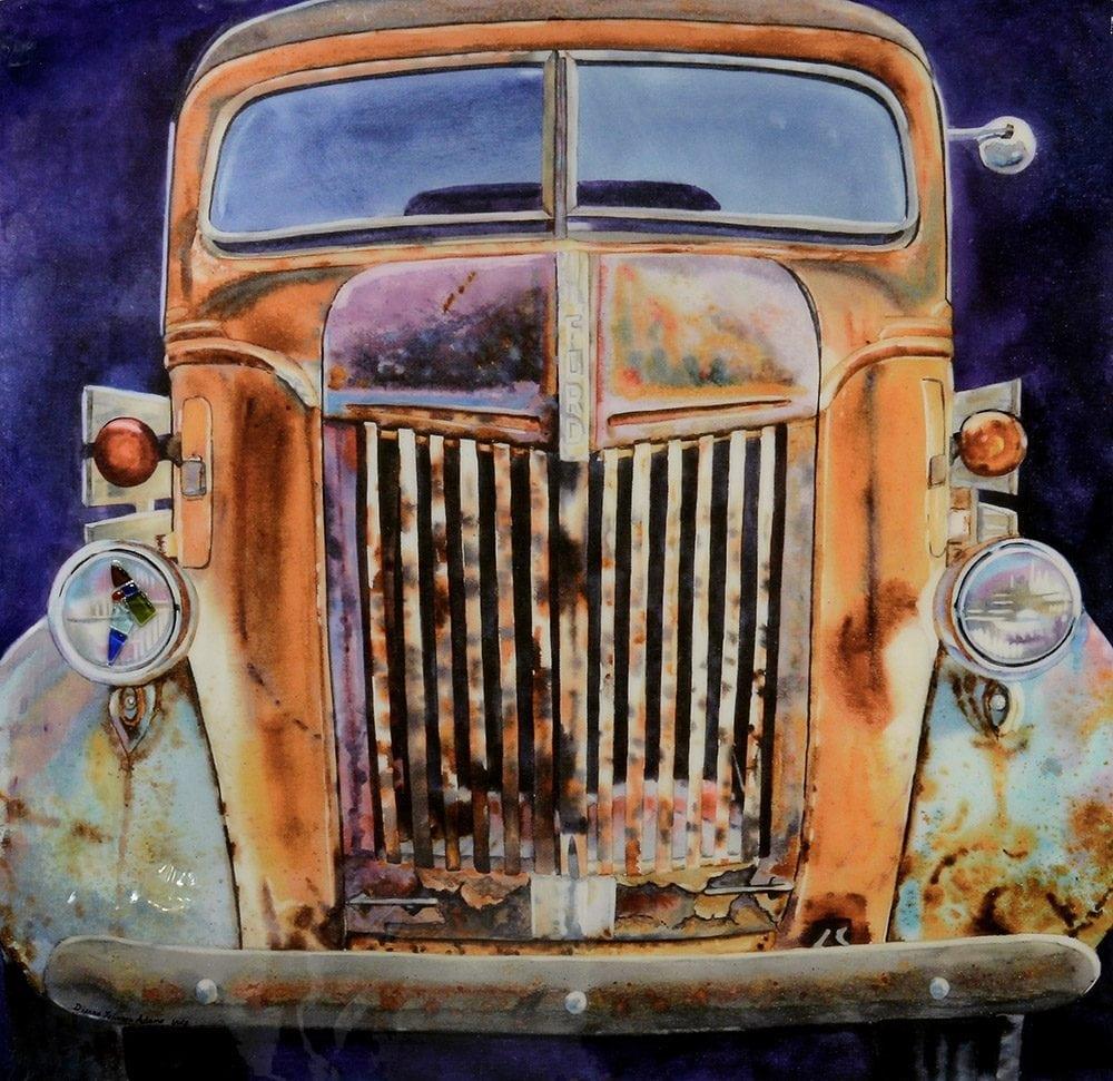 Rust Bucket | Dianne Adams | Painting-Exposures International Gallery of Fine Art - Sedona AZ