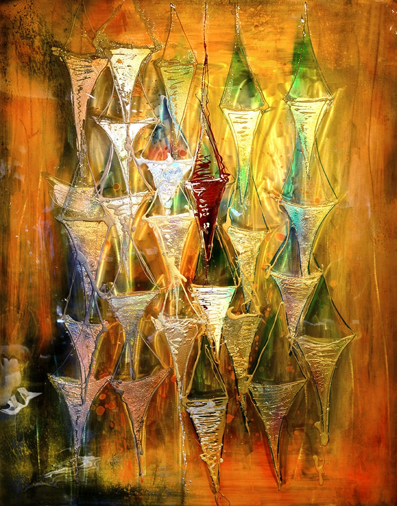 Copper State | Lynn Demiurge | Wall Art-Exposures International Gallery of Fine Art - Sedona AZ