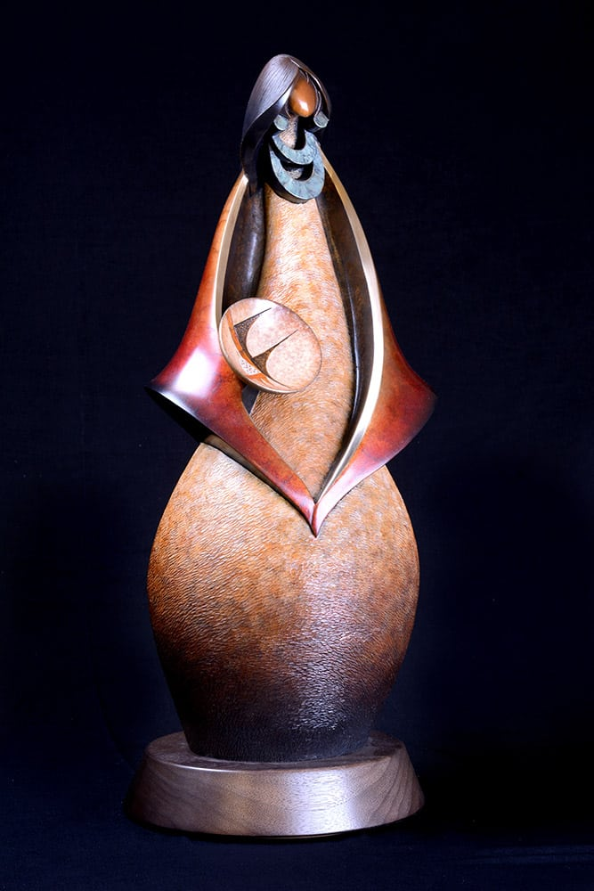 Ancient Echoes | Kim Obrzut | Sculpture-Exposures International Gallery of Fine Art - Sedona AZ
