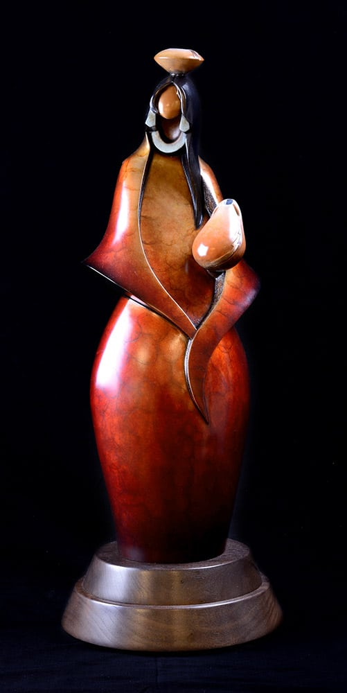 To The Spring | Kim Obrzut | Sculpture-Exposures International Gallery of Fine Art - Sedona AZ