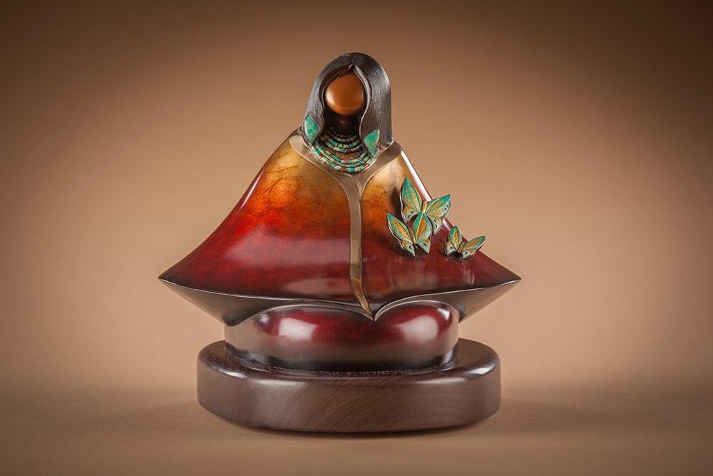 Warm Winds | Kim Obrzut | Sculpture-Exposures International Gallery of Fine Art - Sedona AZ