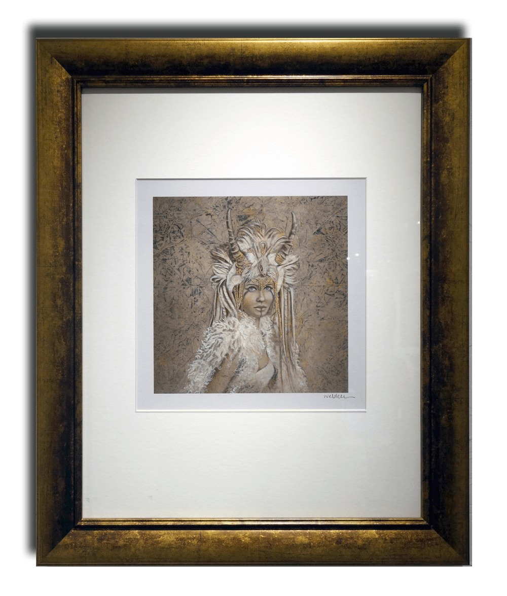 Shamaness | Kimberly Webber | Painting-Exposures International Gallery of Fine Art - Sedona AZ