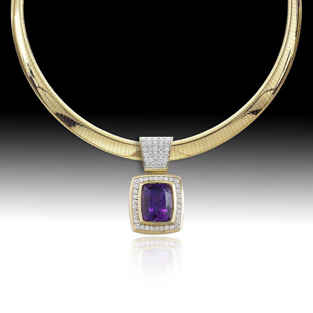 D145-Amethyst 14.71 | Barbara Westwood | Jewelry-Exposures International Gallery of Fine Art - Sedona AZ