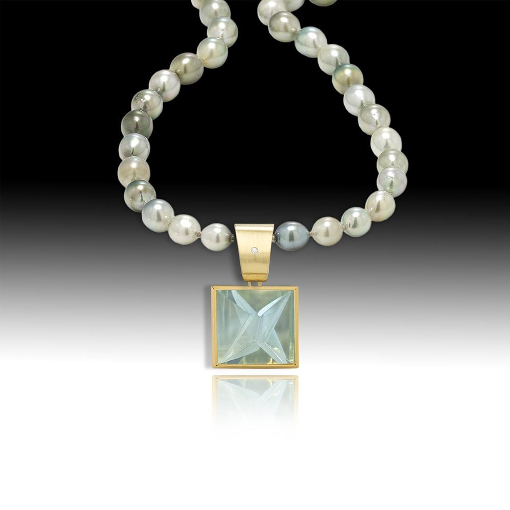 D149-Aquamarine 28.50 | Barbara Westwood | Jewelry-Exposures International Gallery of Fine Art - Sedona AZ