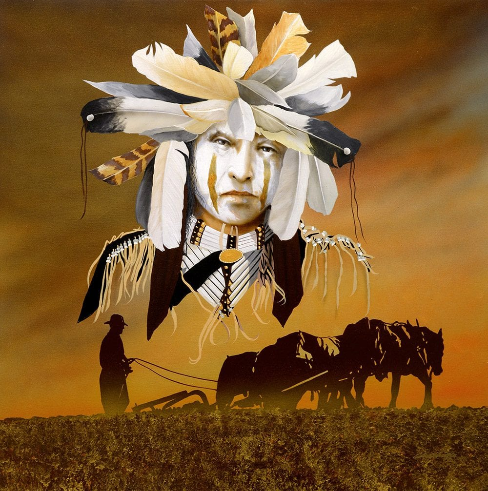 Pray for Mother Earth | Jd Challenger | Painting-Exposures International Gallery of Fine Art - Sedona AZ