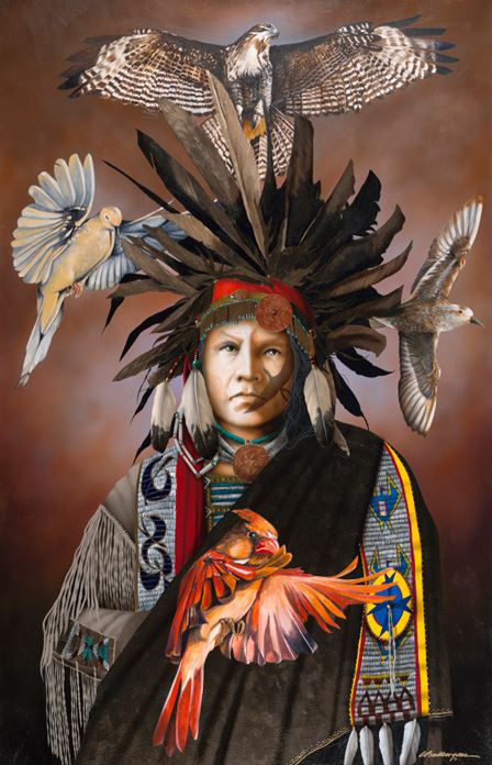 Mystic Healer | Jd Challenger | Painting-Exposures International Gallery of Fine Art - Sedona AZ