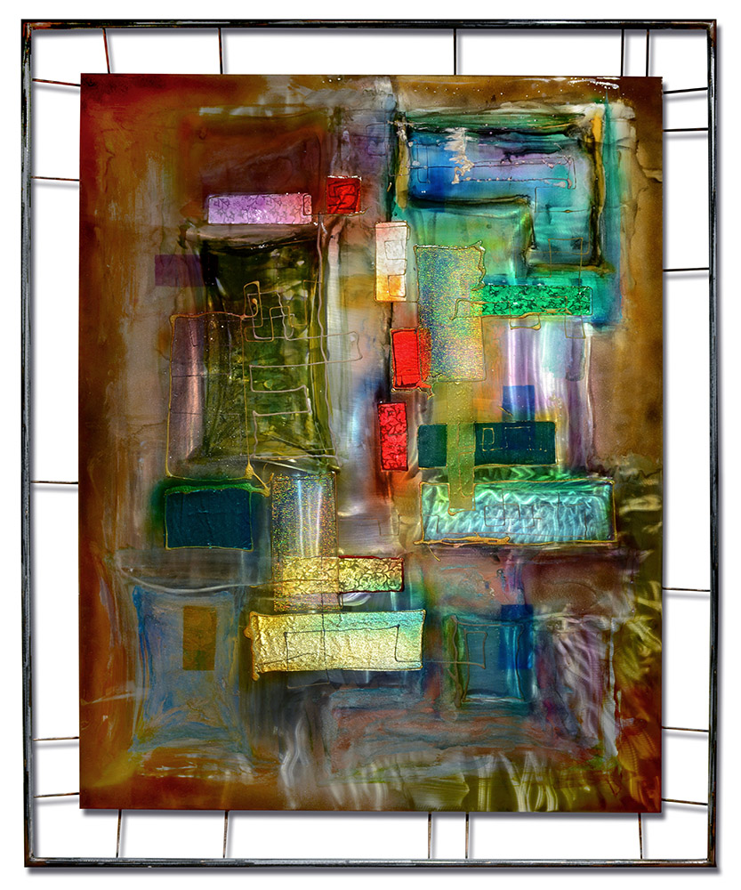 Convergence VI | Lynn Demiurge | Wall Art-Exposures International Gallery of Fine Art - Sedona AZ