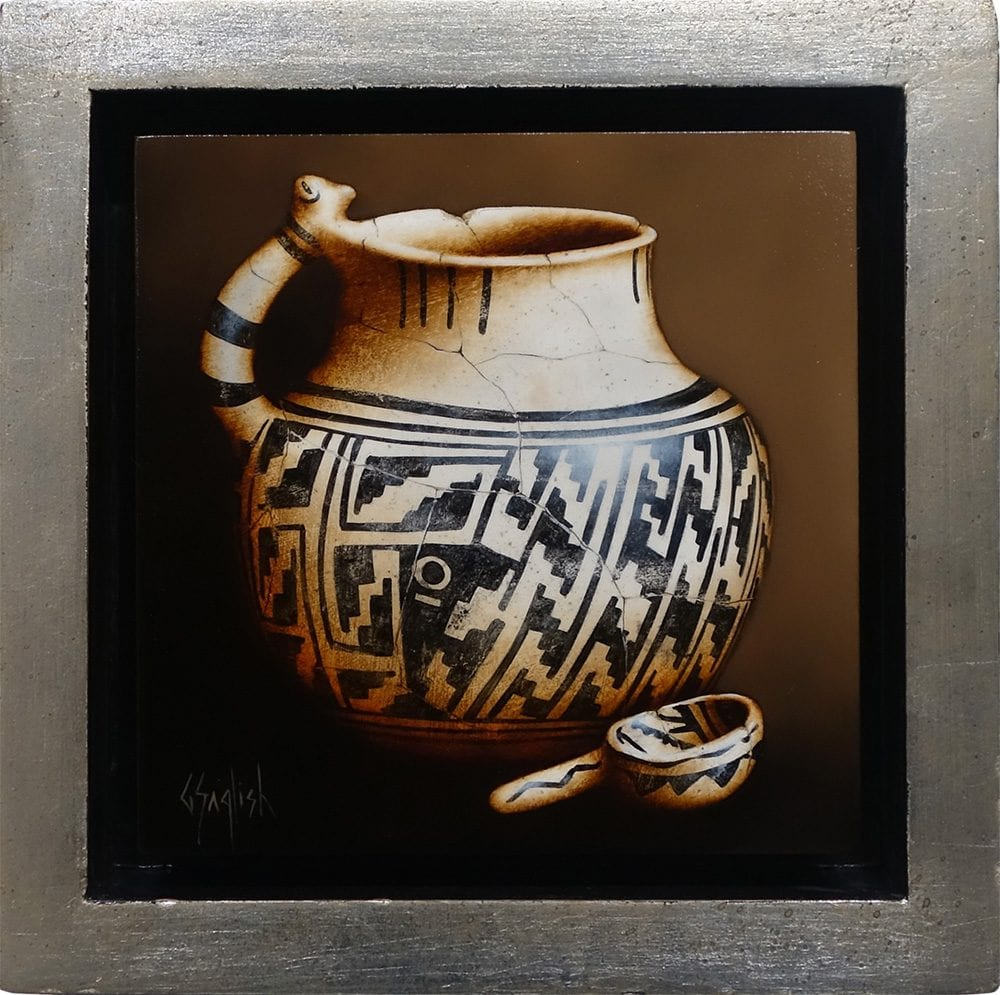 Pueblo Pitcher and Ladle | Greg English | Painting-Exposures International Gallery of Fine Art - Sedona AZ