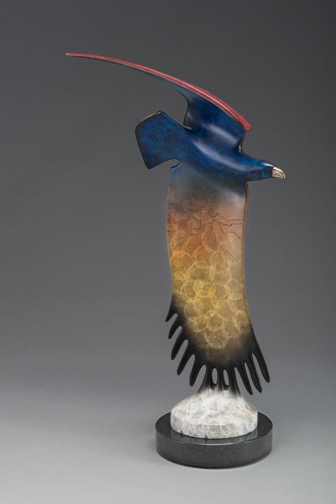 Equinox | Gene & Rebecca Tobey | Sculpture-Exposures International Gallery of Fine Art - Sedona AZ