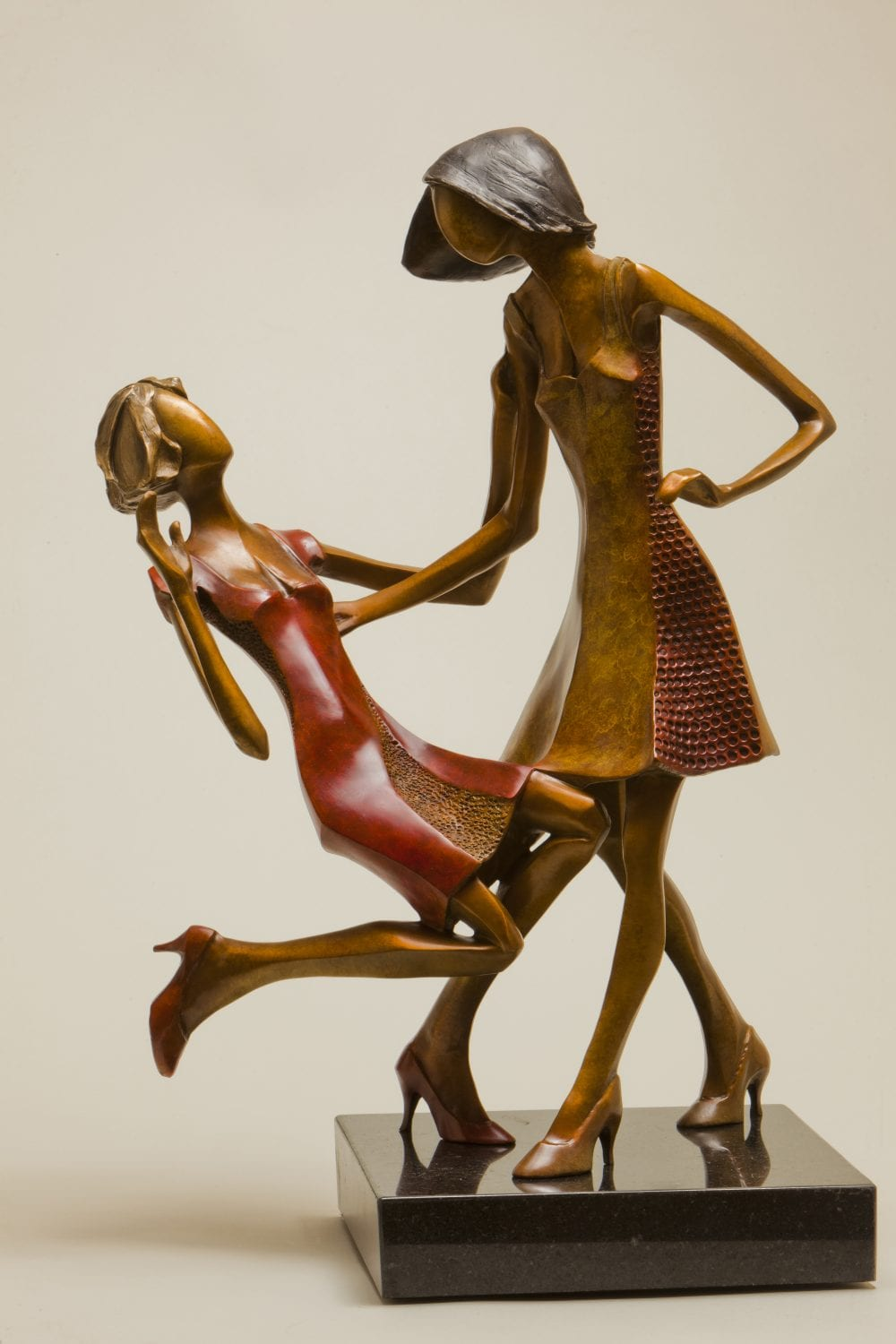Joyful | Richard Pankratz | Sculpture-Exposures International Gallery of Fine Art - Sedona AZ
