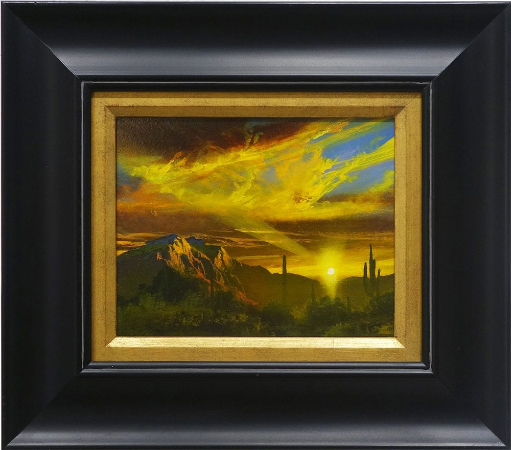 Just Around the Corner to Home | Dale Terbush | Painting-Exposures International Gallery of Fine Art - Sedona AZ