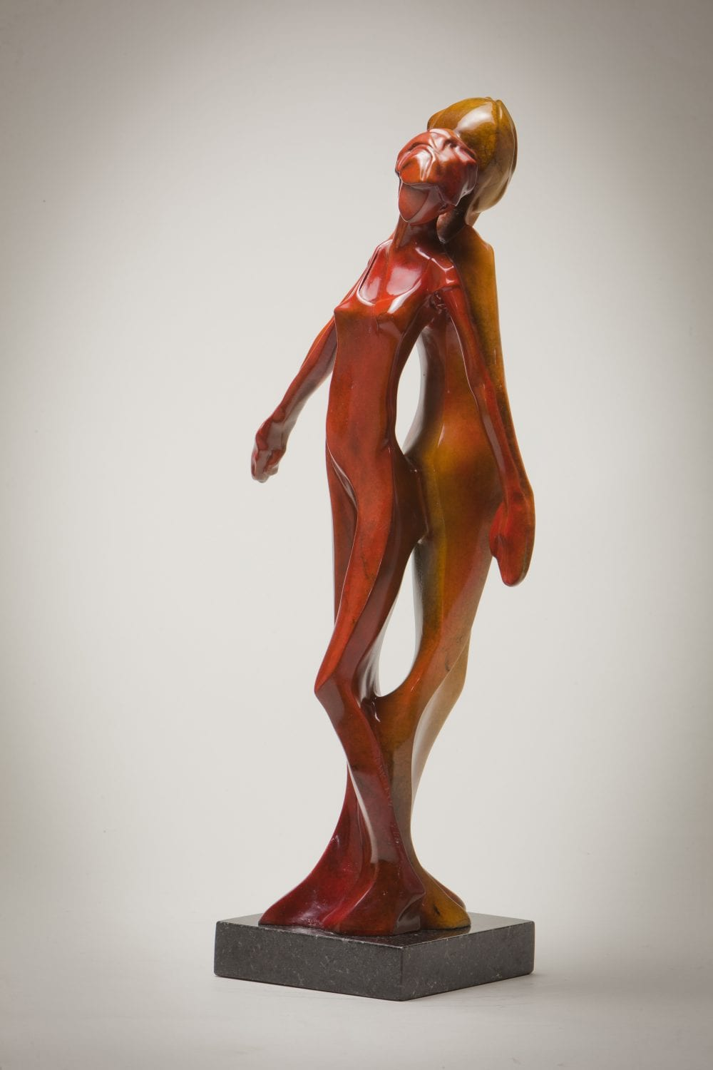 Lean On Me | Richard Pankratz | Sculpture-Exposures International Gallery of Fine Art - Sedona AZ