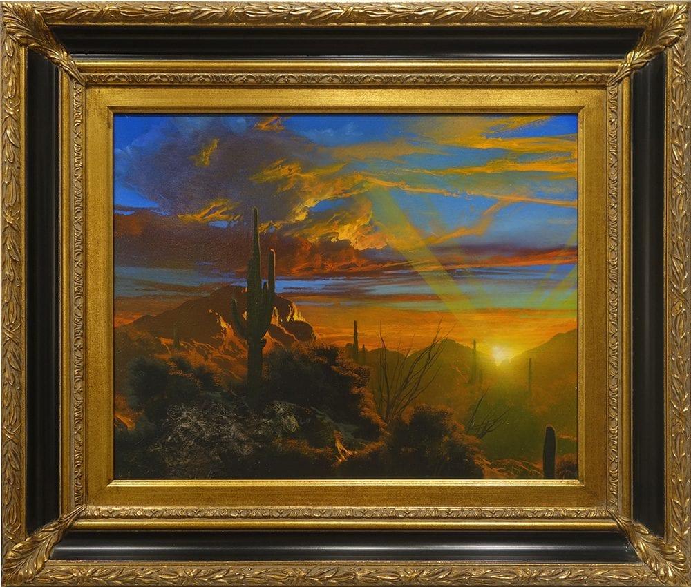 The Fire Sky   Dale Terbush   Painting-Exposures International Gallery of Fine Art - Sedona AZ