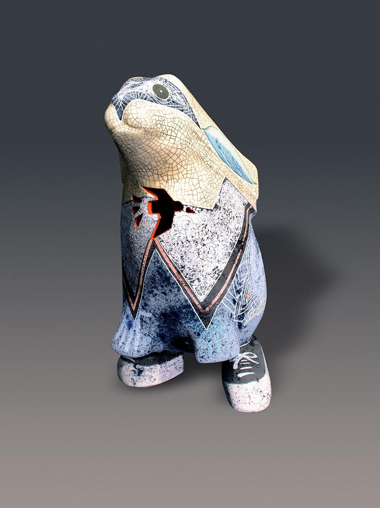 Dress Blues | Gene & Rebecca Tobey | Sculpture-Exposures International Gallery of Fine Art - Sedona AZ