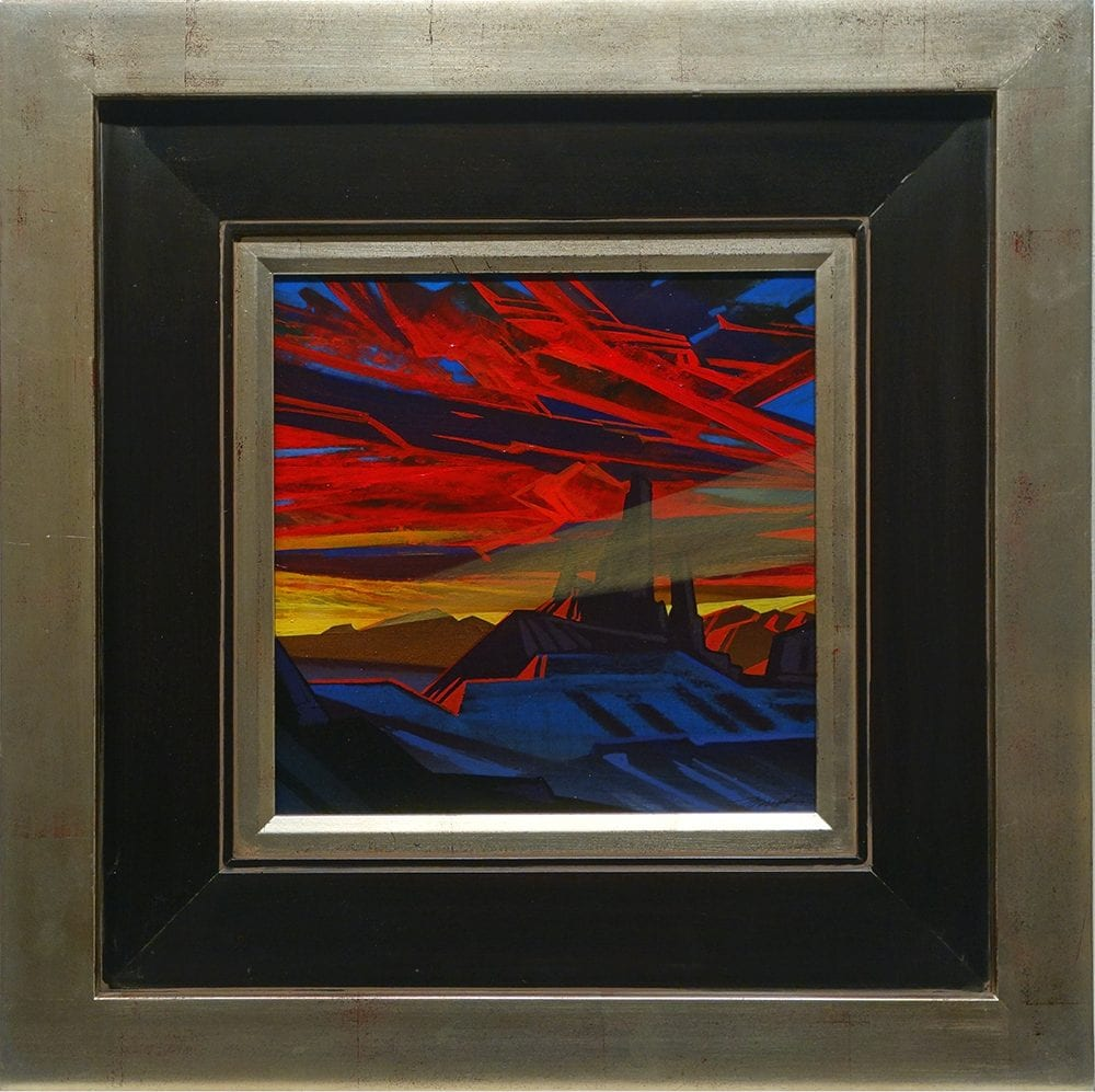 Twilight has the Blues | Dale Terbush | Painting-Exposures International Gallery of Fine Art - Sedona AZ