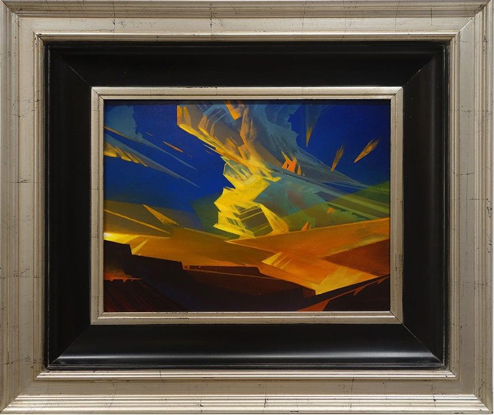 When Thunder Glows | Dale Terbush | Painting-Exposures International Gallery of Fine Art - Sedona AZ