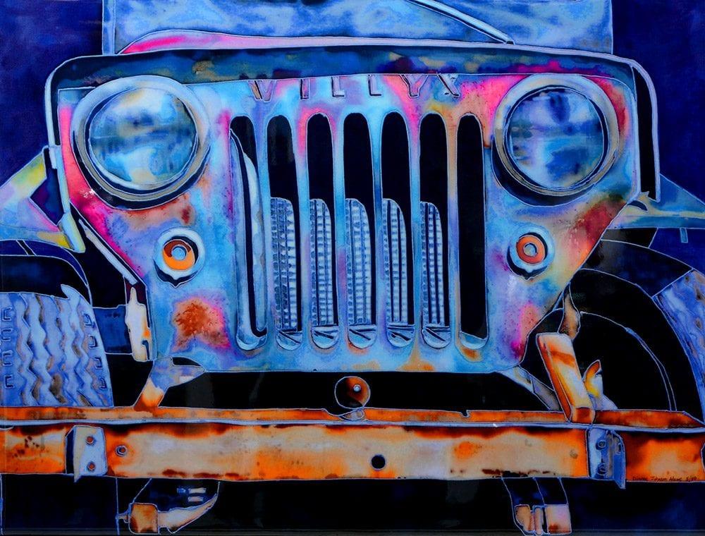 Willys | Dianne Adams | Painting-Exposures International Gallery of Fine Art - Sedona AZ
