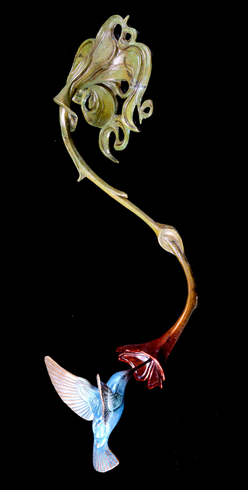 Hummingbird | John Maisano | Sculpture-Exposures International Gallery of Fine Art - Sedona AZ