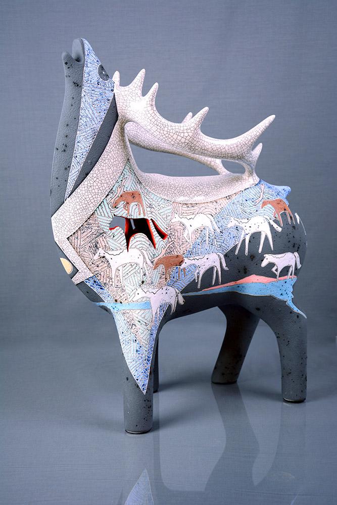 Ghost Ponies | Gene & Rebecca Tobey | Sculpture-Exposures International Gallery of Fine Art - Sedona AZ